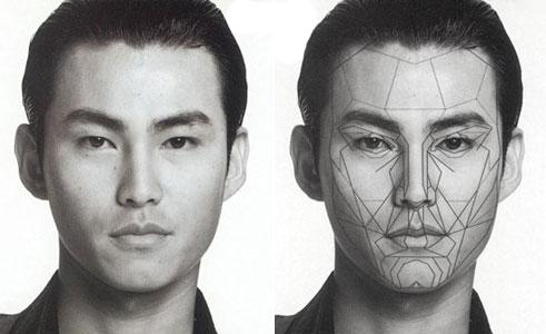 Идеальное лицо у корейца